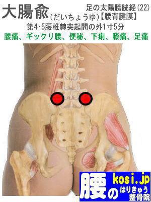 大腸兪、福岡太宰府、ぎっくり腰【腰痛専門】腰のはりきゅう整骨院
