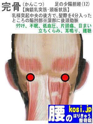 完骨、ぎっくり腰【腰痛専門】腰のはりきゅう整骨院、福岡太宰府